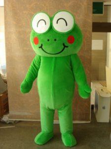ベースのカエルのキャラクターです。