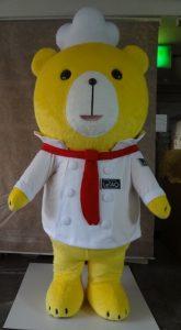 クマのキャラクター着ぐるみ